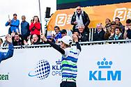 15-09-2017 Foto's van het KLM Open 2017, gehouden op The Dutch in Spijk van 14 t/m 17 september. Jarne Hemmen, 15 jaar, wint Beat the Pro