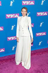 August 21, 2018 - New York City, New York, USA - 8/20/18.Blake Lively at the 2018 MTV Video Music Awards at Radio City Music Hall in New York City. (Credit Image: © Starmax/Newscom via ZUMA Press)