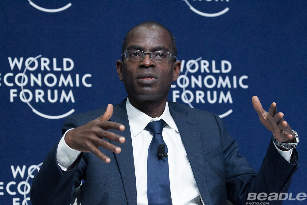 Patrick Gyimah Awuah Jr, Founder and President<br /> Ashesi University College at the World Economic Forum on Africa 2017 in Durban, South Africa. Copyright by World Economic Forum / Greg Beadle