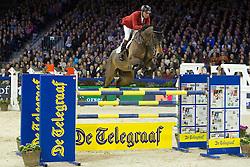 Lansink Jos (BEL) - Ensor De Litrange Lxii<br /> Jumping Amsterdam 2014<br /> © Hippo Foto - Leanjo de Koster