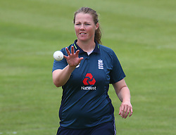 June 15, 2018 - Canterbury, England, United Kingdom - Anya Shrubsole of England Women.during Women's One Day International Series match between England Women against South Africa Women at The Spitfire Ground, St Lawrence, Canterbury, on 15 June 2018  (Credit Image: © Kieran Galvin/NurPhoto via ZUMA Press)