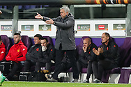Manchester United manager, Jose Mourinho during the Europa League Quarter Final 1st leg match at RSCA Constant Vanden Stock Stadium, Anderlecht, Belgium. Picture date: April 13th, 2017.Pic credit should read: Charlie Forgham-Bailey/Sportimage