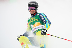 Matts Olsson of Sweden competes during 1st run of Men's GiantSlalom race of FIS Alpine Ski World Cup 57th Vitranc Cup 2018, on March 3, 2018 in Kranjska Gora, Slovenia. Photo by Ziga Zupan / Sportida