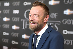 Richard Dormer attending the Game of Thrones Premiere, held at Waterfront Hall, Belfast.