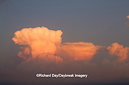 63891-02516 Storm clouds at sunset, Marion Co., IL