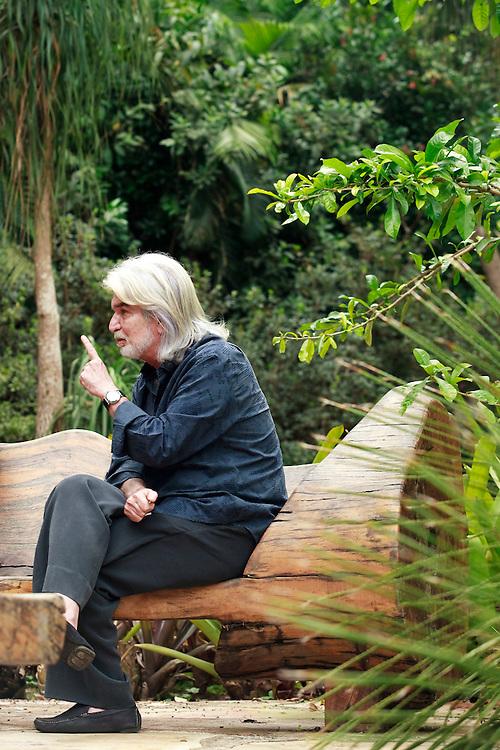 Brumadinho_MG, Brasil...Centro de Arte Contemporanea Inhotim (CACI). Na foto o idealizador do Inhotim, Bernardo Paz...The Inhotim Contemporary Art Center (CACI). In this photo the criator of Inhotim, Bernardo Paz...Foto: BRUNO MAGALHAES / NITRO
