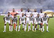 Team Olympique Lyonnais poses before the French League Cup (Coupe de la Ligue) final match between Paris Saint-Germain (PSG) and Olympique Lyonnais (OL, Lyon) on July 31, 2020 at the Stade de France, in Saint-Denis, near Paris, France - Photo Juan Soliz / ProSportsImages / DPPI