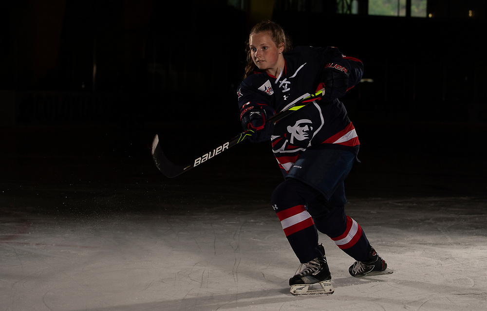 Ellie Marcovsky (Photo by Justin Berl/Robert Morris Athletics)