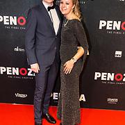 NLD/Amsterdam/20191118 - Filmpremiere Penoza: The Final Chapter, Stijn Taverne en partner