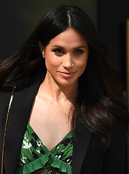 Prince Harry and Meghan Markle attend a reception celebrating the forthcoming Invictus Games in Sydney, at The Australian High Commission, Australia House, London, UK, on the 21st April 2018. 21 Apr 2018 Pictured: Meghan Markle. Photo credit: James Whatling / MEGA TheMegaAgency.com +1 888 505 6342