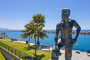9ft Sculpture Of Richard Henry Dana Jr. In Dana Point Harbor