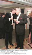 William Cash and Conrad Black,  Duckworth Centenary Dinner. Dorchester, London 14/10/98<br />© Copyright Photograph by Dafydd Jones<br />66 Stockwell Park Rd. London SW9 0DA<br />Tel 0171 733 0108
