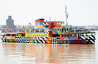 The MV Snowdrop is a Mersey Ferry in operation on the River Mersey,  Liverpool England