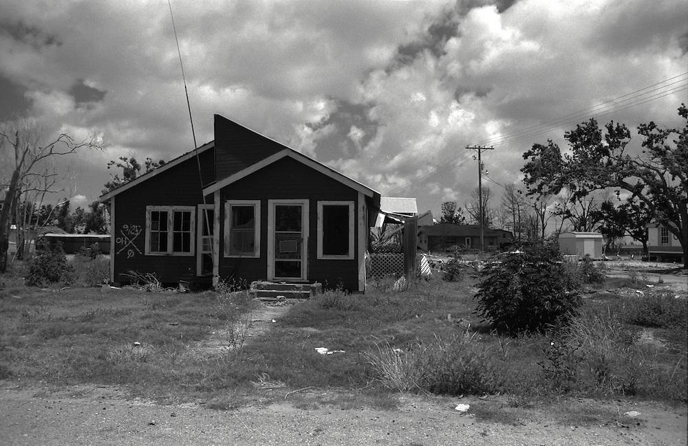 Ruined Homes, Cameron, LA May 2006