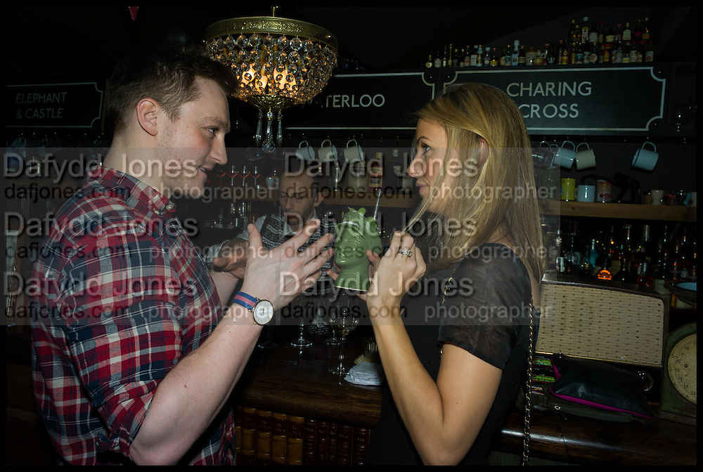 BROOK GILKES; ANNEKA GILKES, Cahoots club launch party, 13 Kingly Court, London, W1B 5PW  26 February 2015