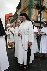June 17, 2017 - Casoria, Campania/Napoli, Italy - Religious procession San Ludovico da Casoria.Religious procession on the streets of Casoria, during the celebrations of San Ludovico da Casoria.In photo a  moment of the procession of San Ludovico da Casoria..Religious procession San Ludovico da Casoria.Religious procession on the streets of Casoria, during the celebrations of San Ludovico da Casoria (Credit Image: © Salvatore Esposito/Pacific Press via ZUMA Wire)