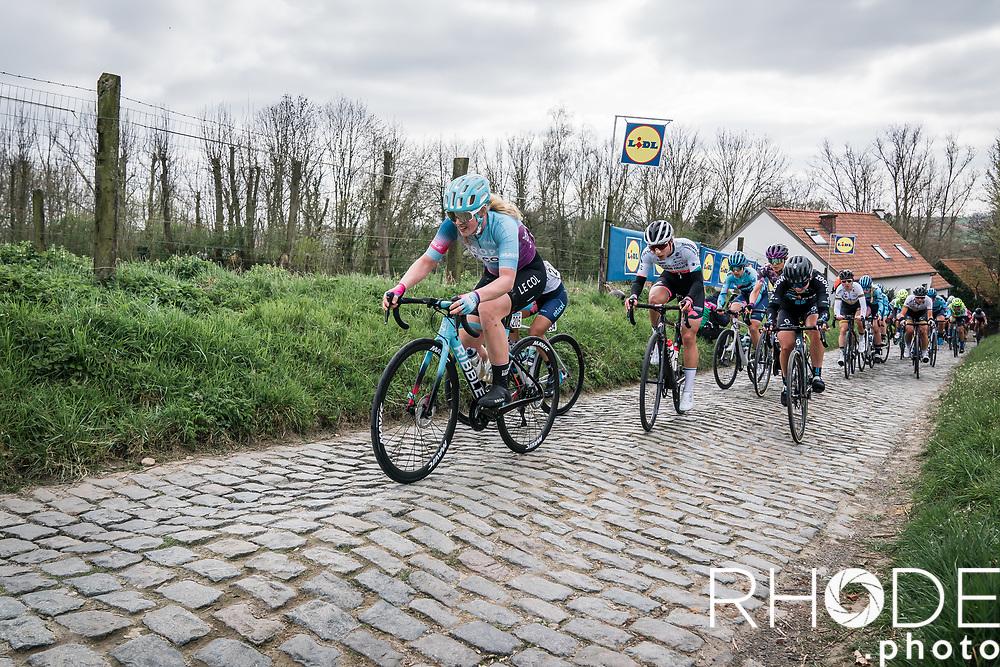 Marjolein van't Geloof (NED/Drops Le Col)<br /> <br /> 18th Ronde van Vlaanderen 2021<br /> Elite Womens Race (1.WWT)<br /> <br /> One Day Race from Oudenaarde to Oudenaarde 152km<br /> <br /> ©RhodePhoto