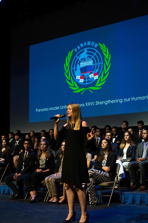 PANAMUN XXVI Opening Ceremony