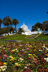 California: San Francisco. Conservatory of Flowers in Golden Gate Park.  Photo copyright Lee Foster. Photo #: 23-casanf78783