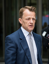 © Licensed to London News Pictures. 20/03/2016. London, UK. DAVID LAWS MP leaves BBC Broadcasting House in London after appearing on The Andrew Marr Show.  Photo credit: Ben Cawthra/LNP