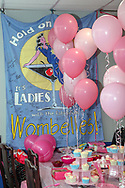 Wombelles banner during the EFL Sky Bet League 1 match between AFC Wimbledon and Bristol Rovers at the Cherry Red Records Stadium, Kingston, England on 19 April 2019.