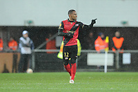 Fotball<br /> Frankrike<br /> Foto: Panoramic/Digitalsport<br /> NORWAY ONLY<br /> <br /> joie Claudio Beauvue apres son but (Guingamp)