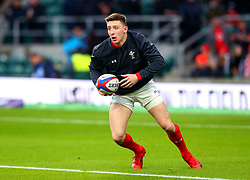 Josh Adams of Wales warms up - Mandatory by-line: Robbie Stephenson/JMP - 10/02/2018 - RUGBY - Twickenham Stoop - London, England - England v Wales - Women's Six Nations
