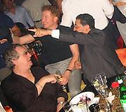 Danny Aiello & Mick Hucknall.Man Ray Restaurant Opening Party.Man Ray Restaurant.New York,  NY .July 11, 2001.Photo by Celebrityvibe.com..