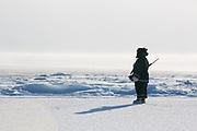Charlotte Crosby TLC Travel show. Inuit Hunting