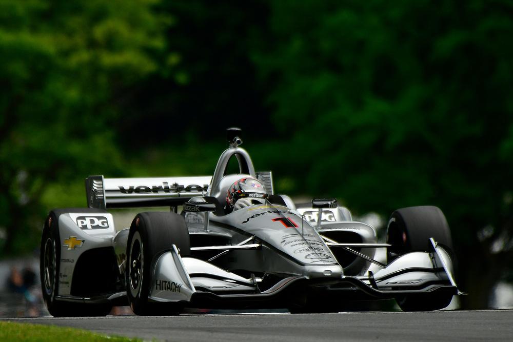 Josef Newgarden, Team Penske Chevrolet<br /> Friday 22 June 2018<br /> KOHLER Grand Prix at Road America<br /> Verizon IndyCar Series<br /> Road America WI USA<br /> World Copyright: Scott R LePage