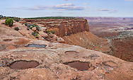 The Desert landscape of Canyonlands National Park, Utah, USA