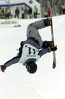 Snowboard, NM snøbrett halfpipe Geilo mars 2000. Terje Haakonsen (Håkonsen).