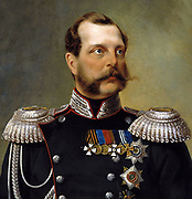 Alexander II 1818 – 1881. known as Alexander the Liberator  was the Emperor, or Tsar, of the Russian Empire from 3 March 1855 until his assassination in 1881.
