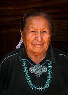 Lucy Fatt, Navajo rug weaver, Monument Valley, Arizona