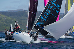 Clyde Cruising Club's Scottish Series 2019<br /> 24th-27th May, Tarbert, Loch Fyne, Scotland<br /> <br /> Day 1 - Perfect conditions to start the 45th Series.<br /> <br /> IRL2794, Mata, D & M Wright, Howth Yacht Club, Half Tanner<br /> <br /> Credit: Marc Turner / CCC