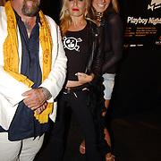 Playboy Night 2004, Kelly van der Veer en Henk Schiffmacher Louise van Teylingen