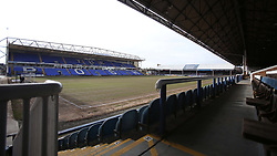 A general view of the Weston Homes Stadium, home of Peterborough United - Mandatory by-line: Joe Dent/JMP - 20/02/2021 - FOOTBALL - Weston Homes Stadium - Peterborough, England - Peterborough United v AFC Wimbledon - Sky Bet League One