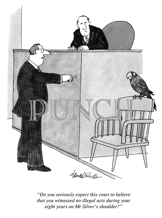 """""""Do you seriously expect this court to believe that you witnessed no illegal acts during your eight years on Mr Silver's shoulder?"""""""