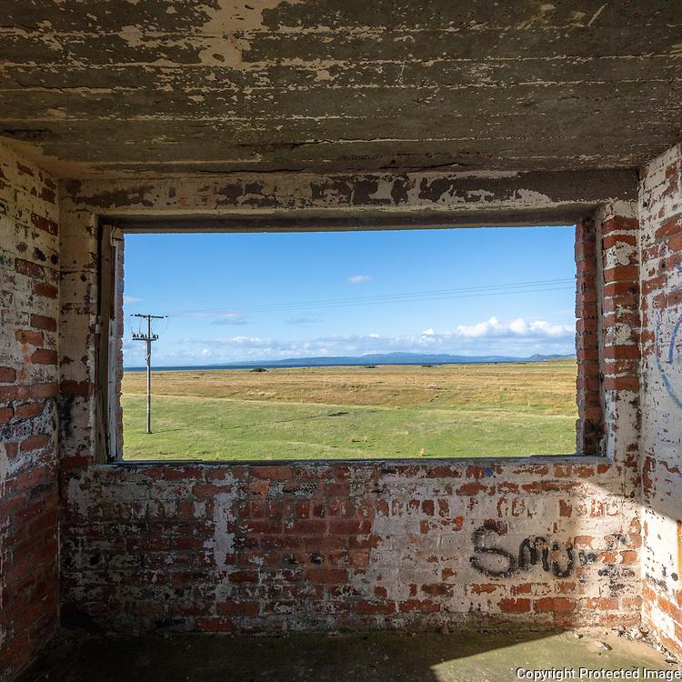 Rhunahaorine Point WW2 lookout post III, Kintyre, Argyll & Bute, Scotland.