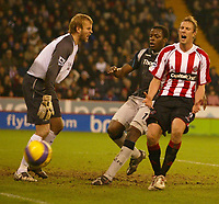 Photo: Aidan Ellis.<br /> Sheffield United v Manchester City. The Barclays Premiership. 26/12/2006.<br /> Sheffield's Rob Hulse shows his dismay as another chance goes begging
