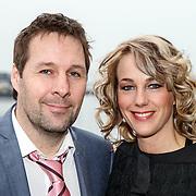 NLD/Amsterdam/20150324 - Schaatsgala 2014, Marianne Timmer en partner Henk Timmer