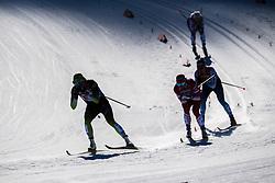February 24, 2019 - Seefeld In Tirol, AUSTRIA - 190224 A silhouette of Katja Visnar of Slovenia during women's team sprint semi final during the FIS Nordic World Ski Championships on February 24, 2019 in Seefeld in Tirol..Photo: Joel Marklund / BILDBYRN / kod JM / 87888 (Credit Image: © Joel Marklund/Bildbyran via ZUMA Press)