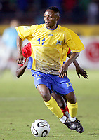 Fotball<br /> Foto: Dppi/Digitalsport<br /> NORWAY ONLY<br /> <br /> FOOTBALL - AFRICAN CUP OF NATIONS 2006 - FIRST ROUND - GROUP B - 060125 - ANGOLA v RD CONGO - MARCEL MBAYO (CON)