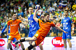 14-04-2019 SLO: Qualification EHF Euro Slovenia - Netherlands, Celje<br /> Evert Kooijman of Netherlands during handball match between National teams of Slovenia and Netherlands in Qualifications of 2020 Men's EHF EURO