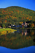PA landscapes, town and lake, Galton,Potter Co., PA