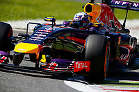 RICCIARDO Daniel (Aus) Red Bull Renault Rb10 Action  during the 2014 Formula One World Championship, Italy Grand Prix from September 5th to 7th 2014 in Monza, Italy. Photo Florent Gooden / DPPI