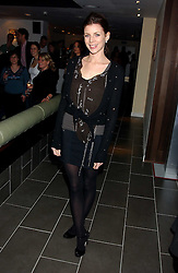 Model LIBERTY ROSS at the opening party for a new bowling alley All Star Lanes, at Victoria House, Bloomsbury Place, London on 19th January 2006.<br />