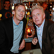 NLD/Amsterdam/20110516 - Boekpresentatie History van Cors van den Berg en William Rutten, Andre van Duin en partner Martin Elferink