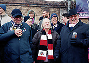 Fans and supporters during the Dulwich Hamlet F.C. game vs Lowestoft Town F.C. at Champion Hill on 25th October 2017 in South London in the United Kingdom. Dulwich Hamlet was founded in 1893 and both teams play in the Isthmian League Premier Division, a regional mens football league covering London, East and South East England.