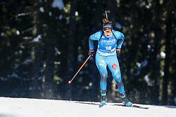 Julia Simon of France competes during the IBU World Championships Biathlon 15km Individual Women competition on February 16, 2021 in Pokljuka, Slovenia. Photo by Primoz Lovric / Sportida